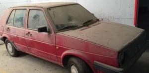 רכבאדום ישן מיועד לפירוק