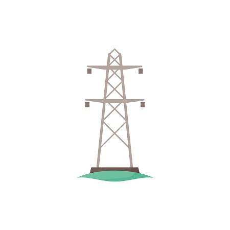עמוד חשמל גבוה